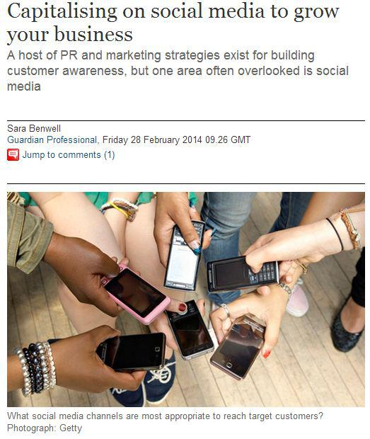 capitalising on social media to grow your business
