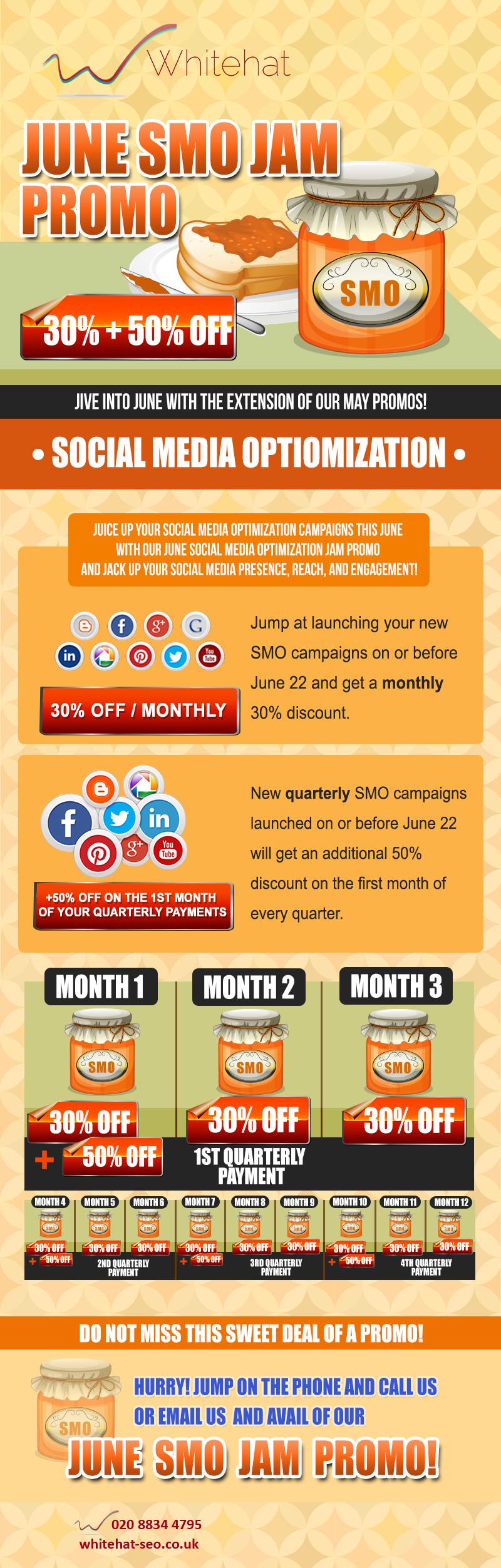 Whitehat June SMO Promotion - Social Media