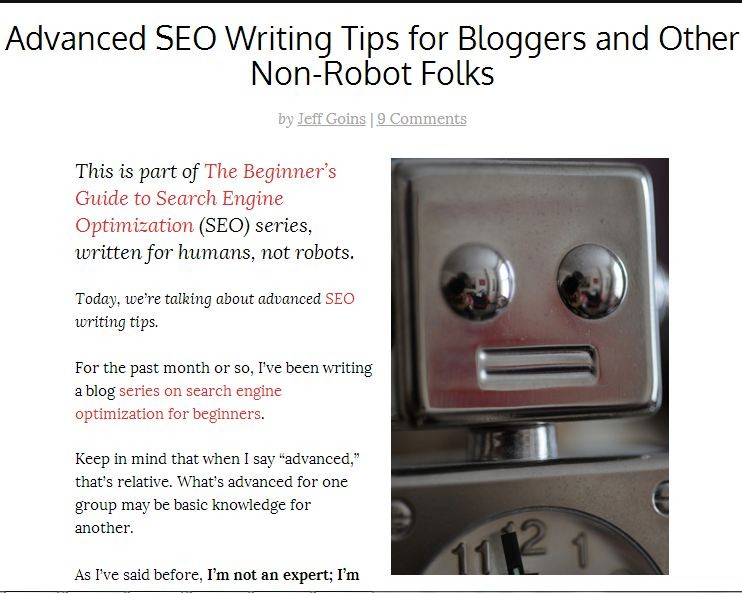 advanced seo writing tips