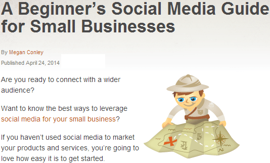 a beginners social media guide for small UK businesses