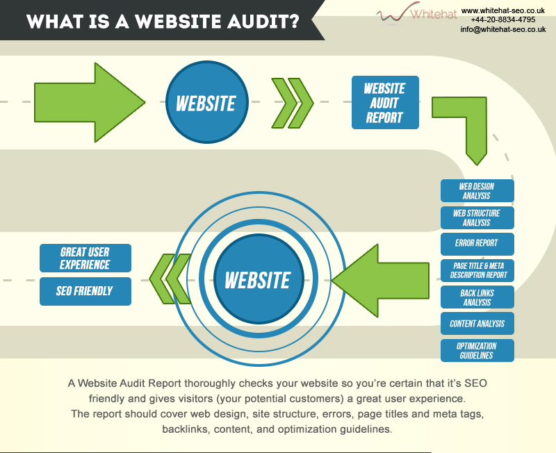 Whitehat website checker review analysis infographics