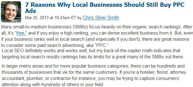 7 reasons why local businesses should still buy ppc ads