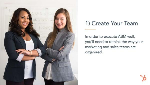 Create Your Team