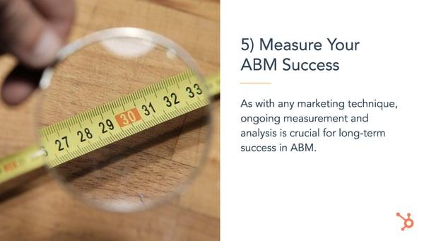 Measure Your ABM Success