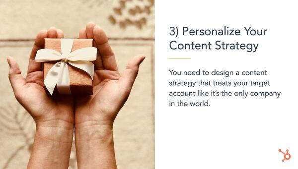 Personalise Your Content Strategy