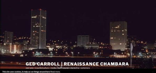 Ged Carroll  renaissance chambara • East Asia
