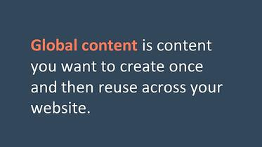 Global Content