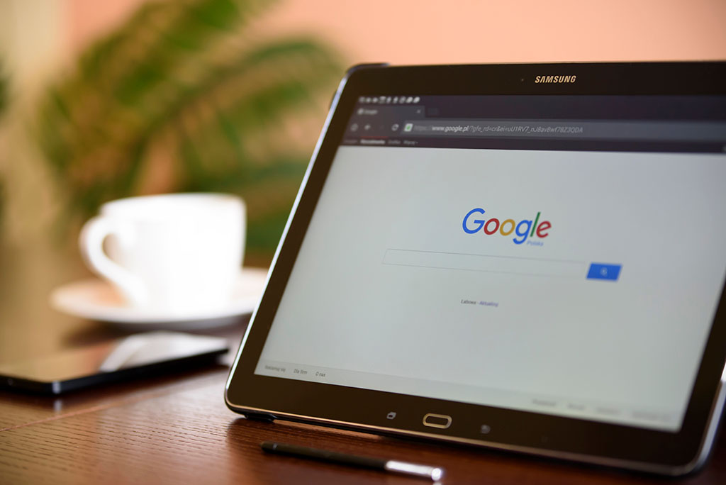 Google grants tablet screen