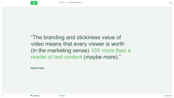 HUG ldn event - 10 x more than a reader of text content