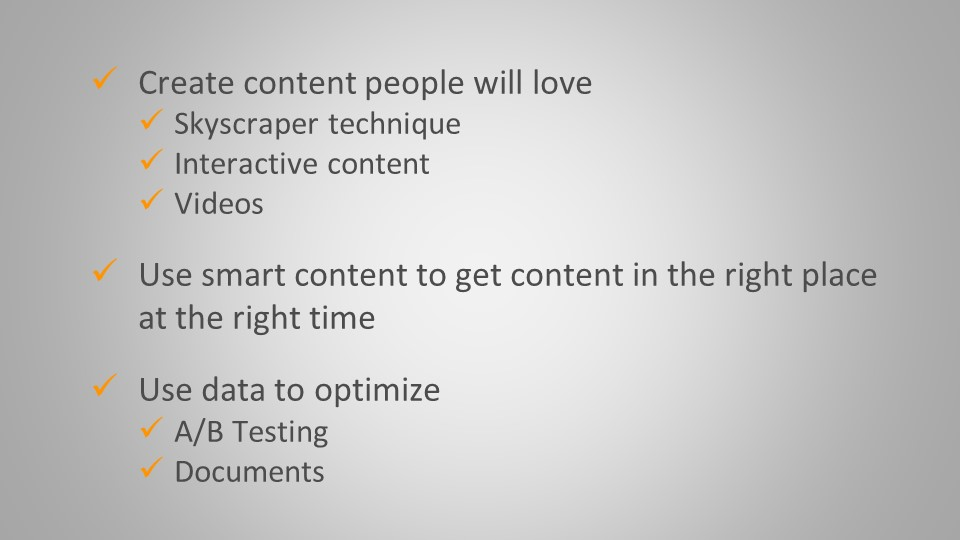inbound fundamental tips_meaningful content