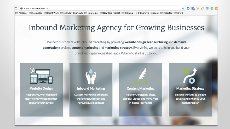 inbound marketing agency for growing business
