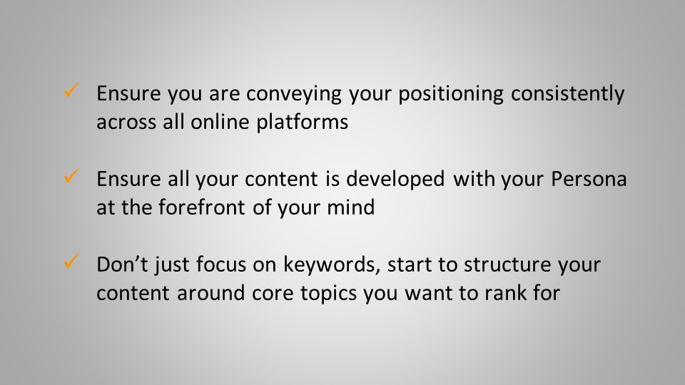 positioning as successful inbound strategy