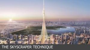 skyscrapper technique