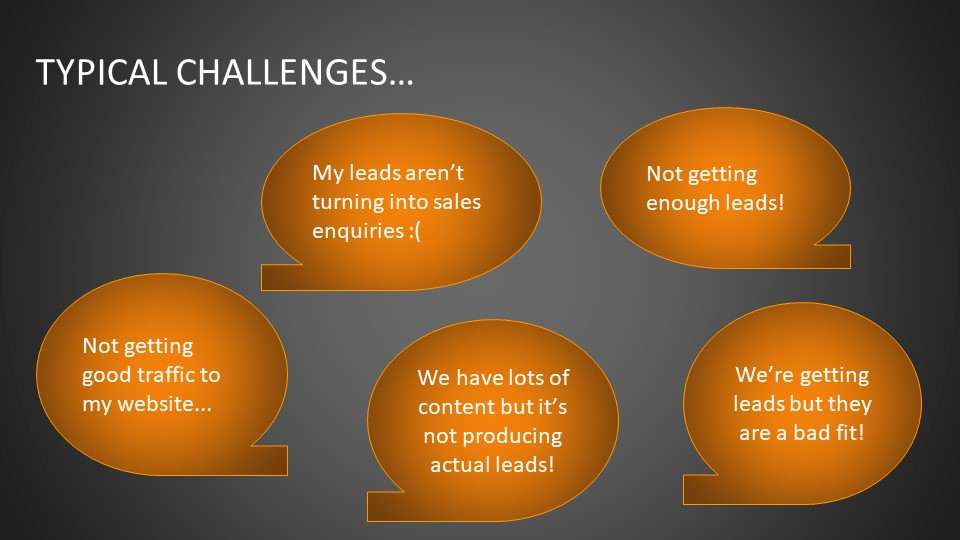 typical challenges of a business