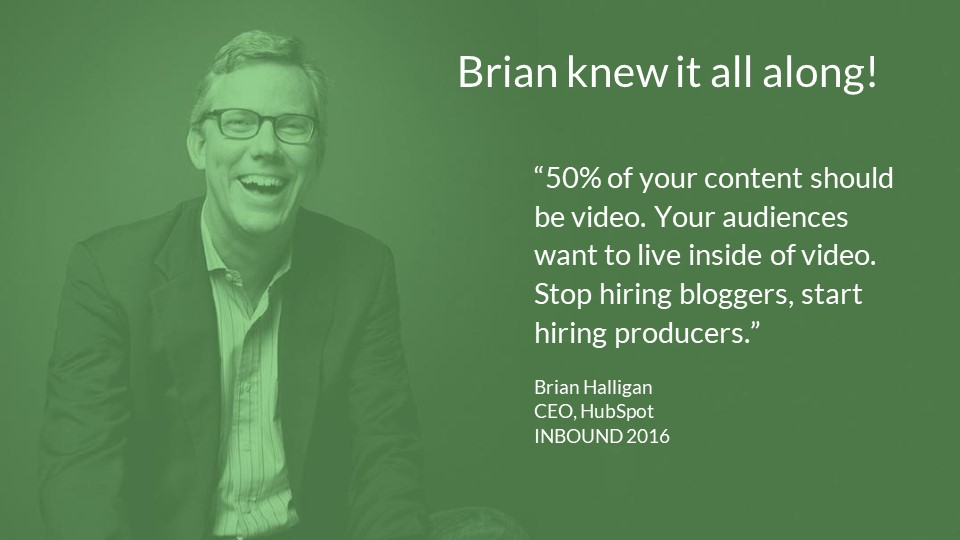 Stop hiring bloggers start hiring producers