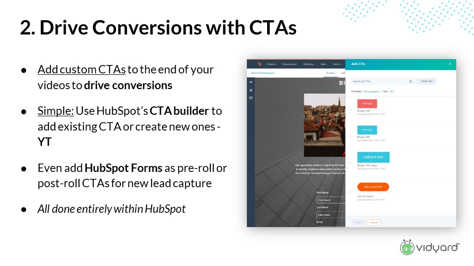 How to drive video conversions with CTAs