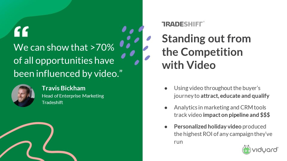 Video as a competitive tool