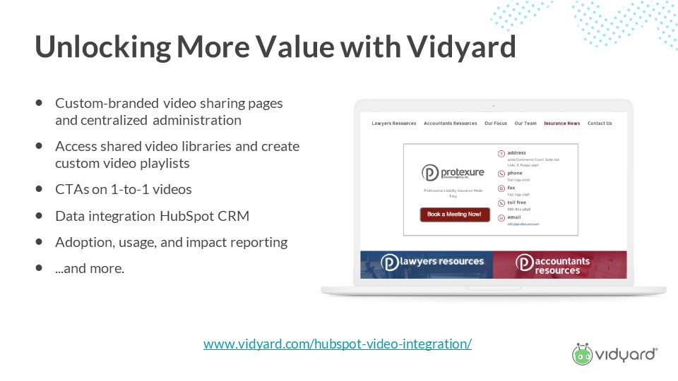 How to unlock value with video