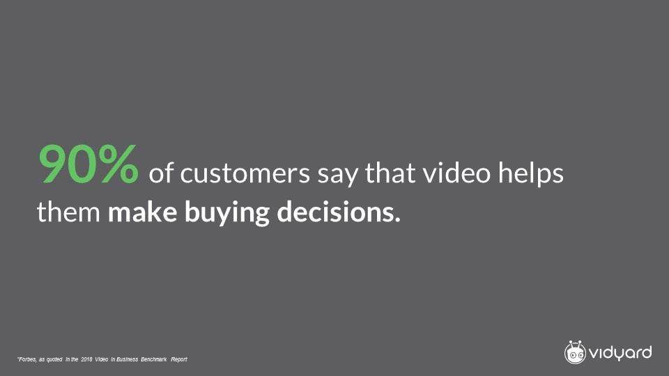 Forbes commentary on video in the buyer decision process