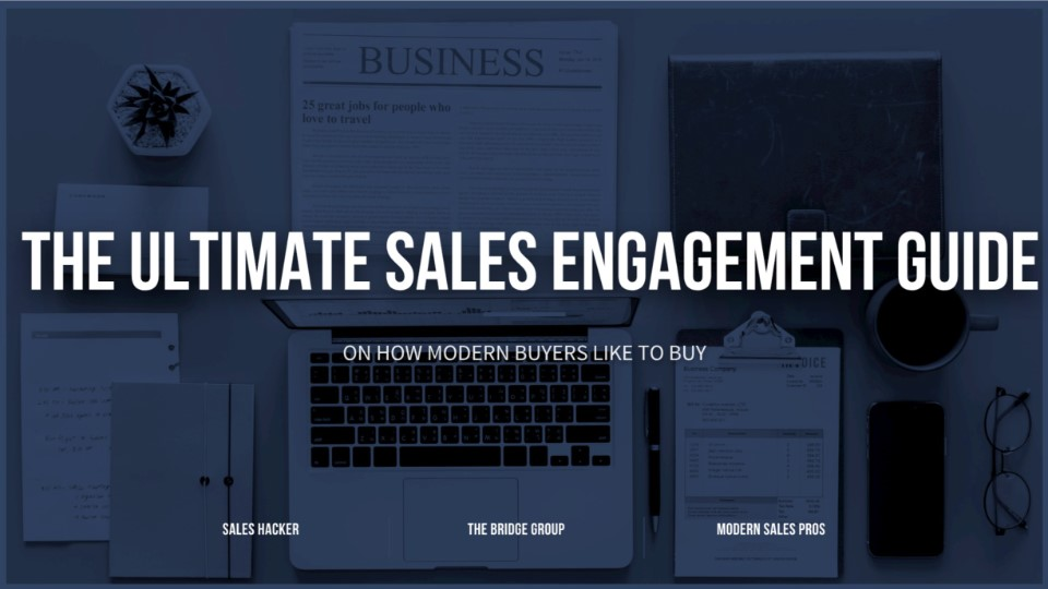 The ultimate sales engagement guide