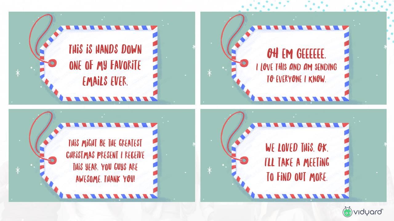 Happy Holiday responses