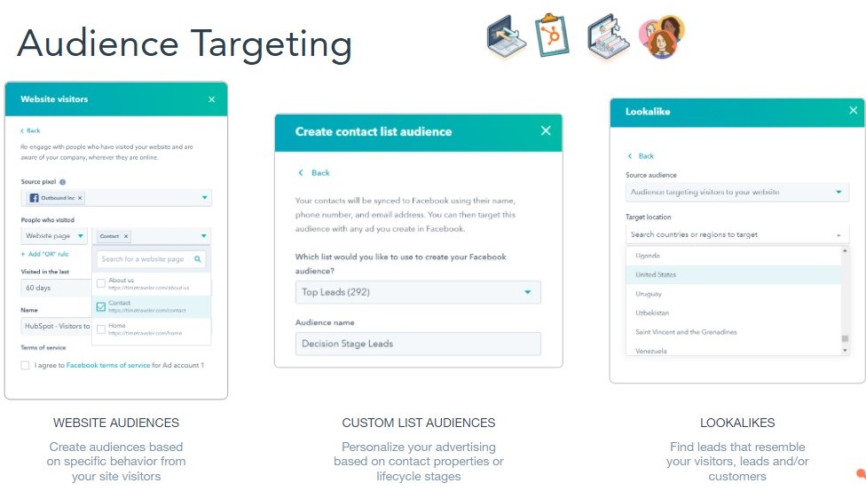 How to use audience targeting