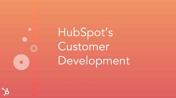 Hubspot Customer Development