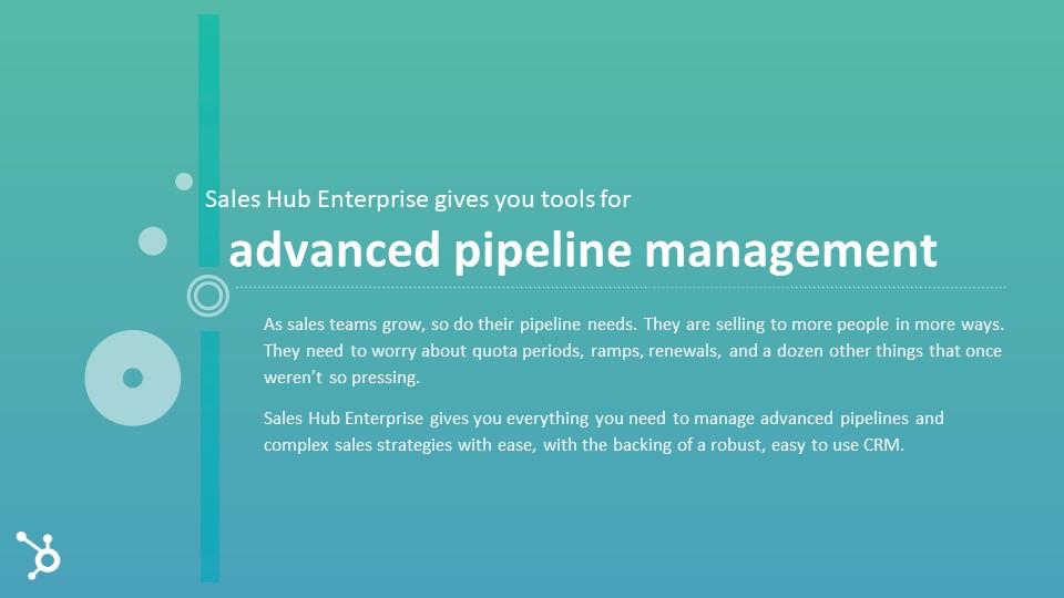 HubSpot Sales Hub Enterprise