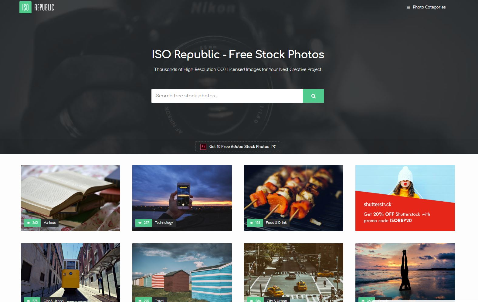 ISO republic home page