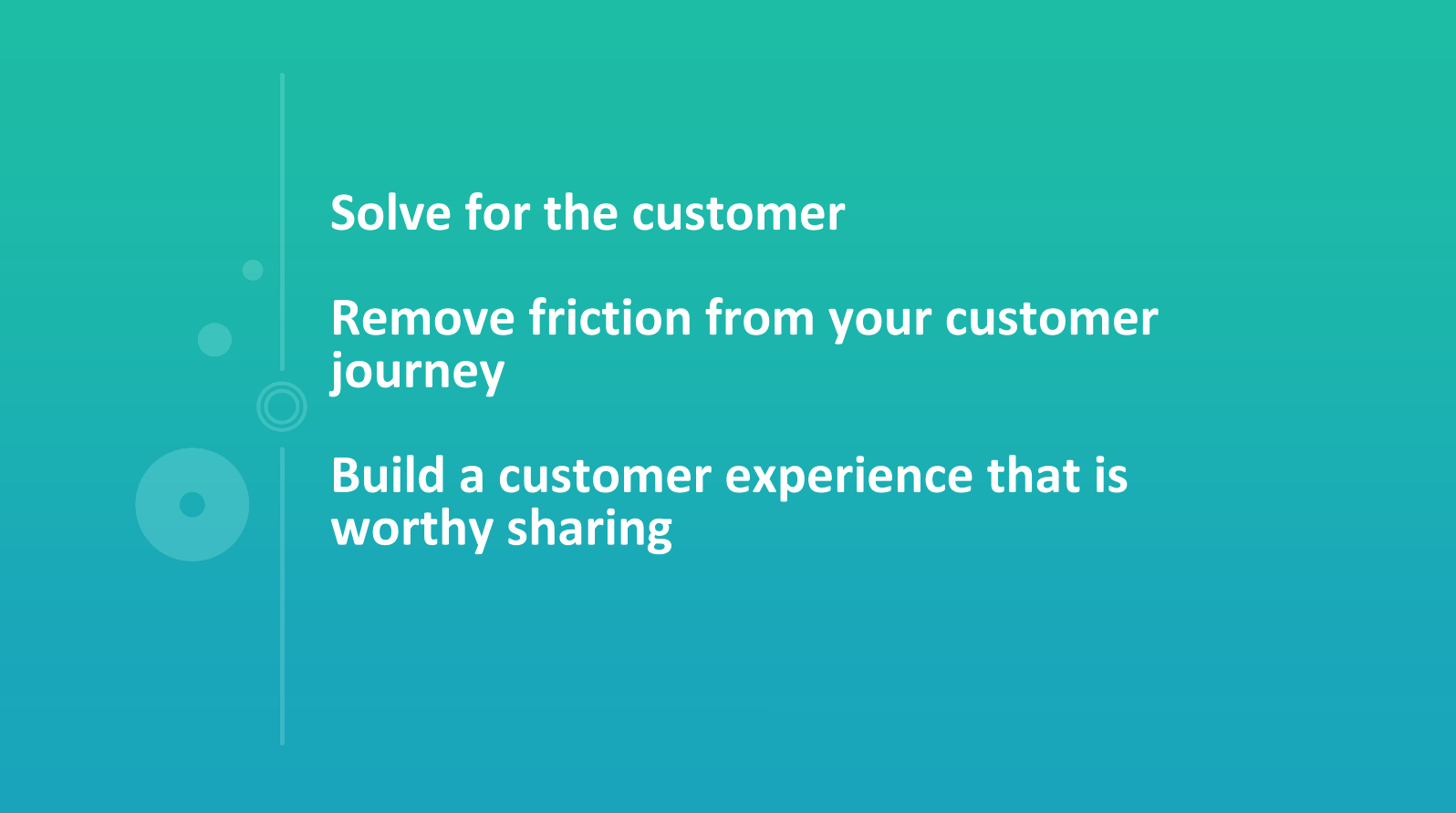 Improving your customer experience and reducing friction