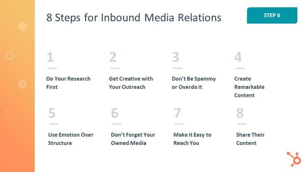 8 Steps for Inbound Media Relations