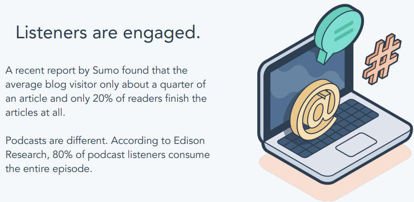 Is podcasting right quote 2