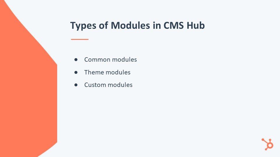 Modules CMS Hub
