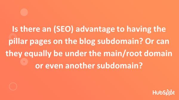 SEO Advantage Pillar Pages