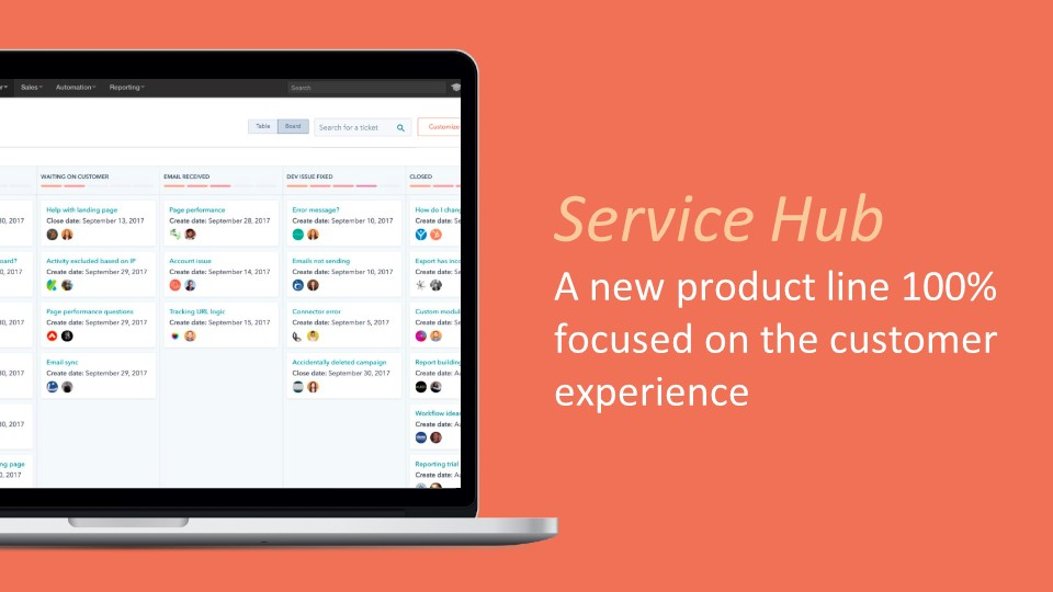 Focused on the customer experience