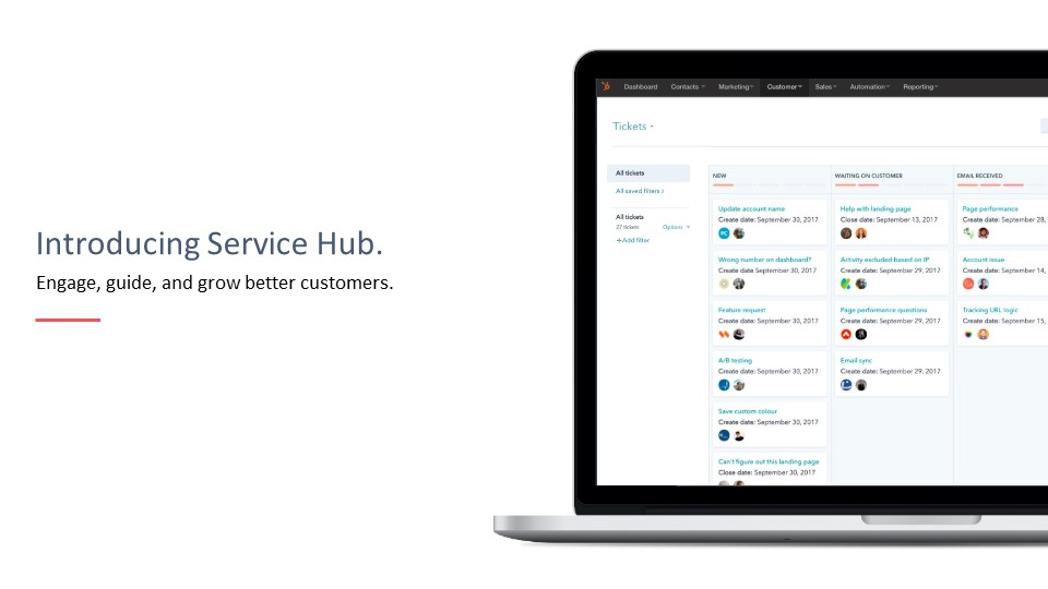 Introduction to Service Hub