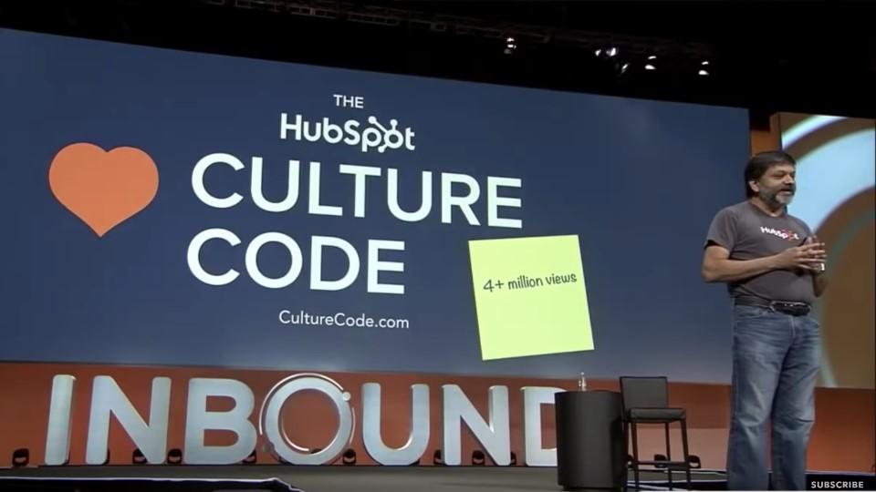 The HubSpot Culture Code