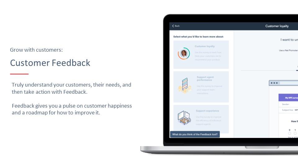 HubSpot Customer Feedback Tool
