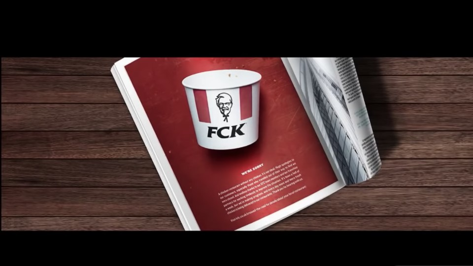 FCK - admit your mistakes