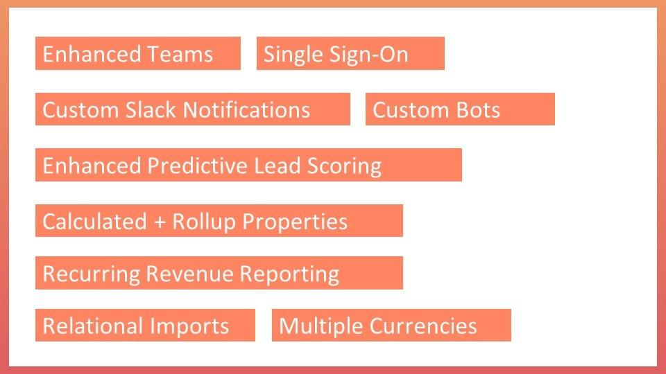 HubSpot Enterprise features