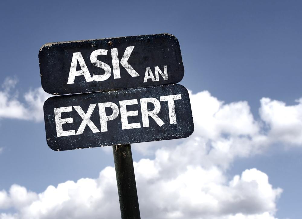 Ask a marketing expert sign