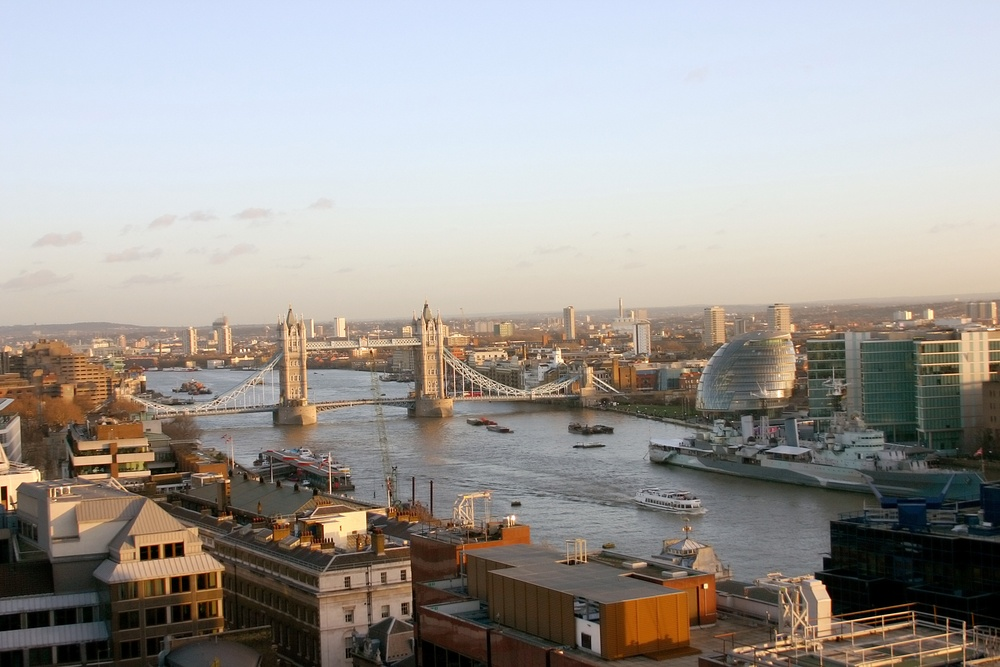 PPC agency London Skyline including the Town Hall, Tower Bridge and the River Thames-1