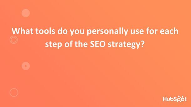 Tools for SEO Strategy