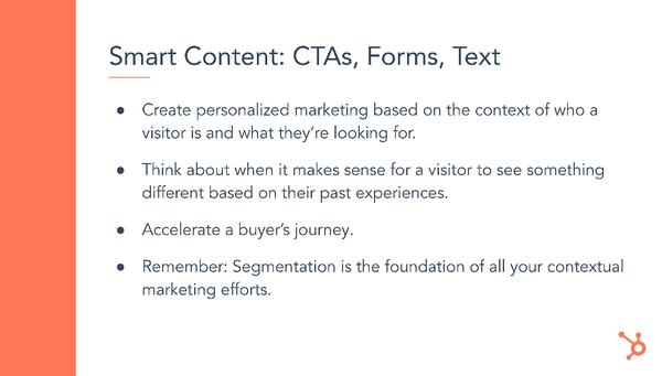 Types of Smart Content