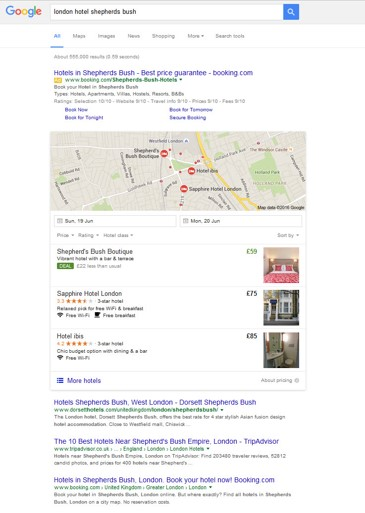 getting Your Hotels Seen On Google Maps