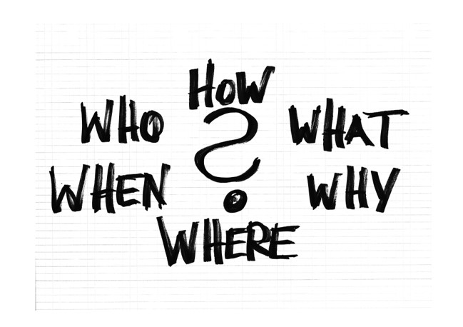 Questions about SEO writing - Who,What,When,Why,Where,How