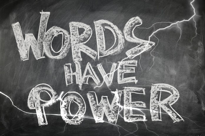 Words have power in website copywriting