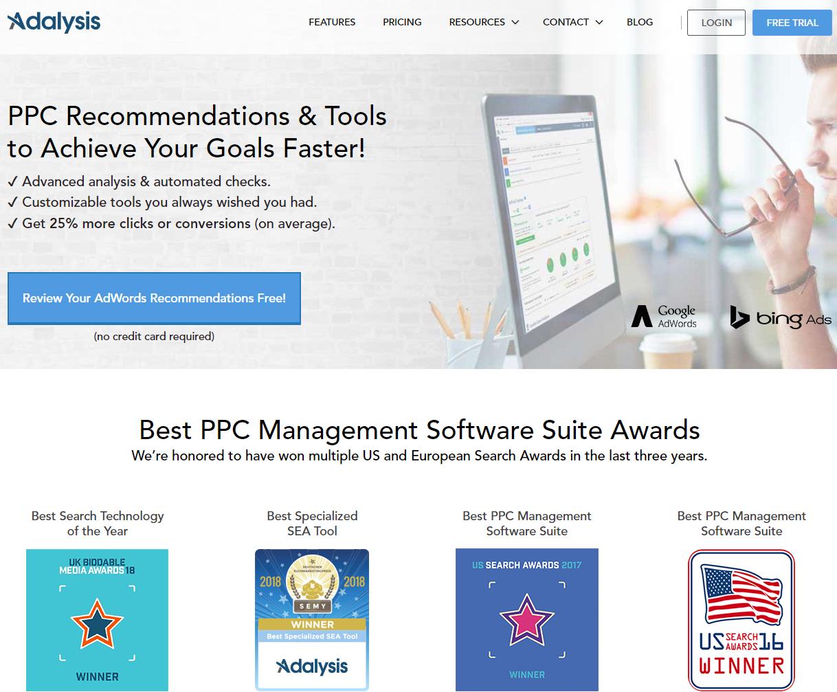 Google Ads Adalysis ppc analysis tool