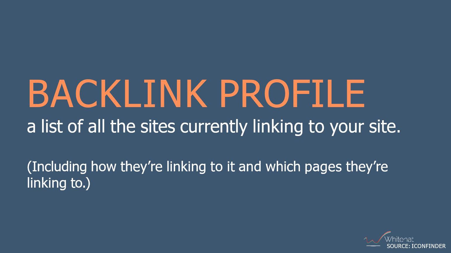 track you backlink profile