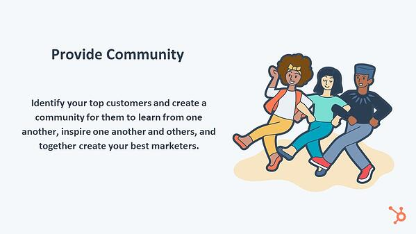 Provide Community